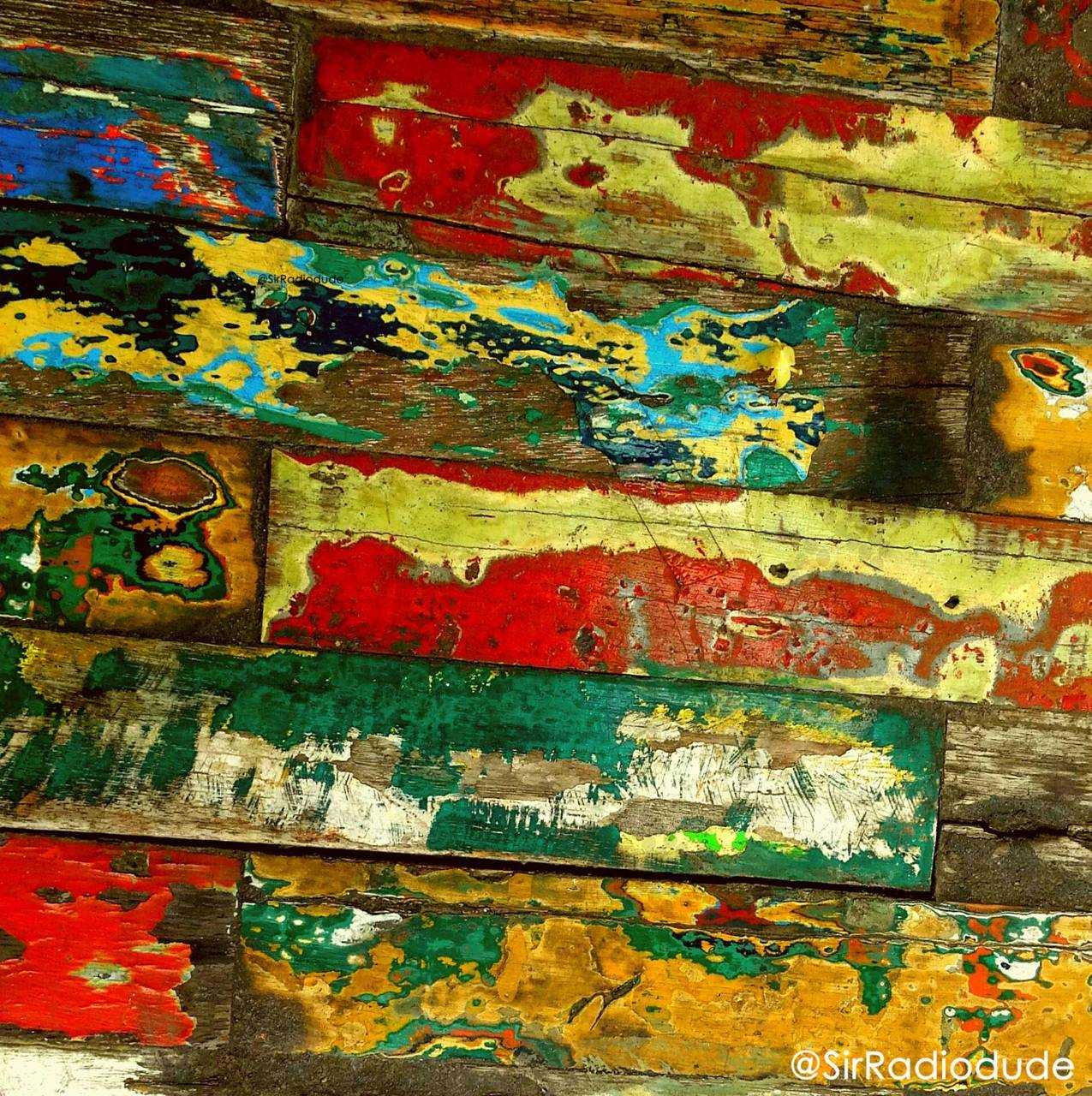 Weathered Boards