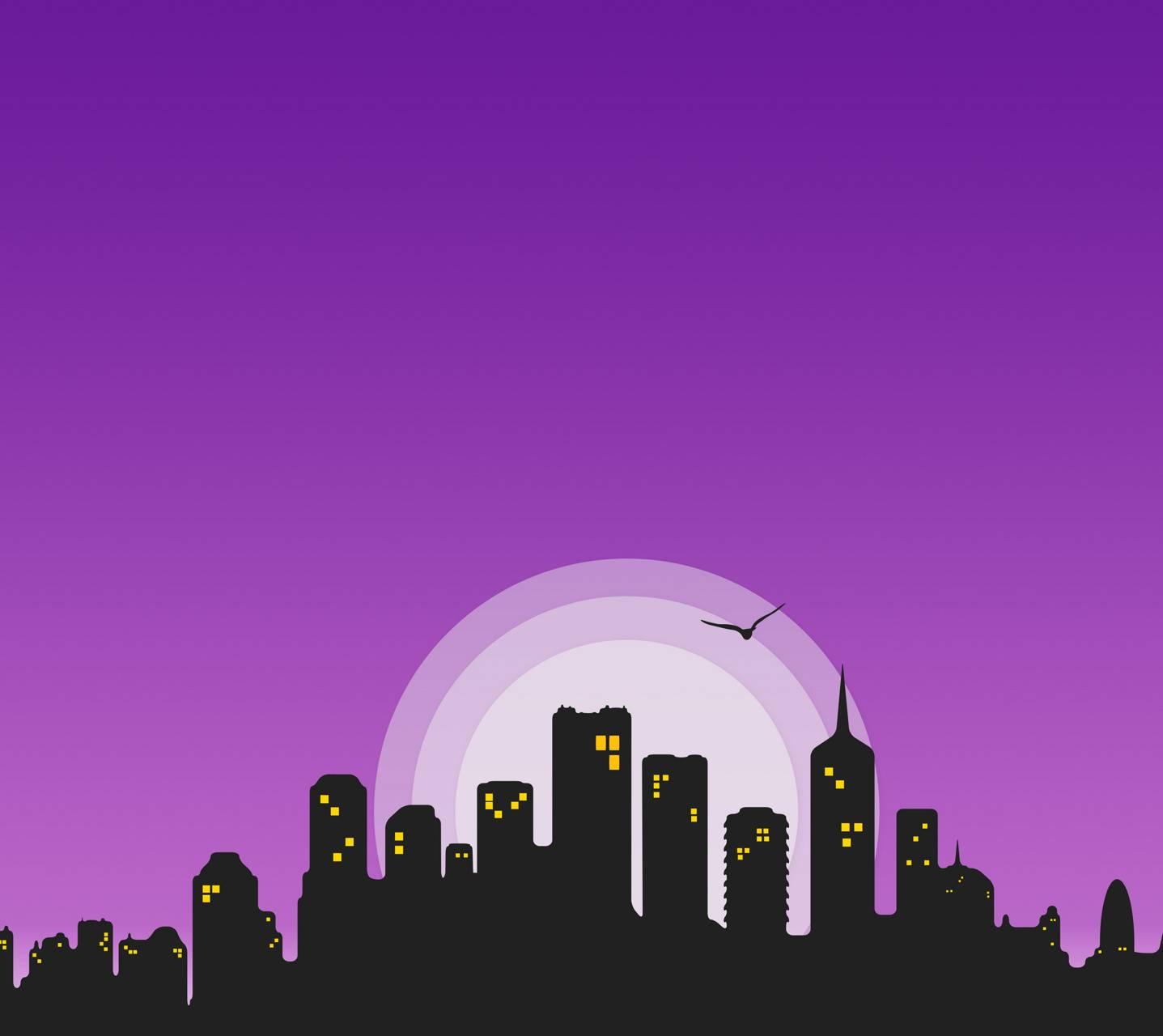City Skyline Night