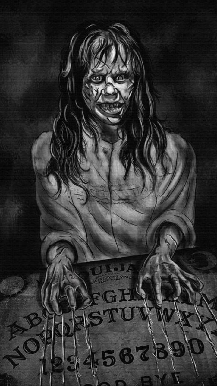 Exorcism Ouija board