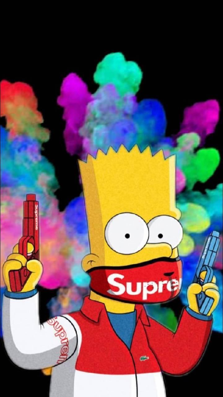 Bart with supreme on