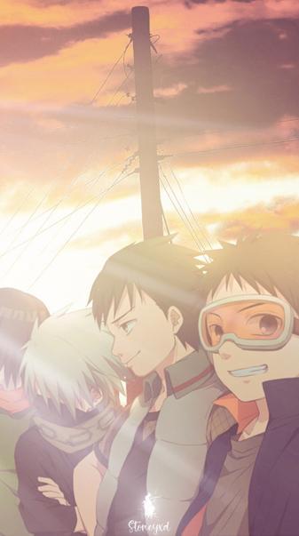 Obito and kakashi