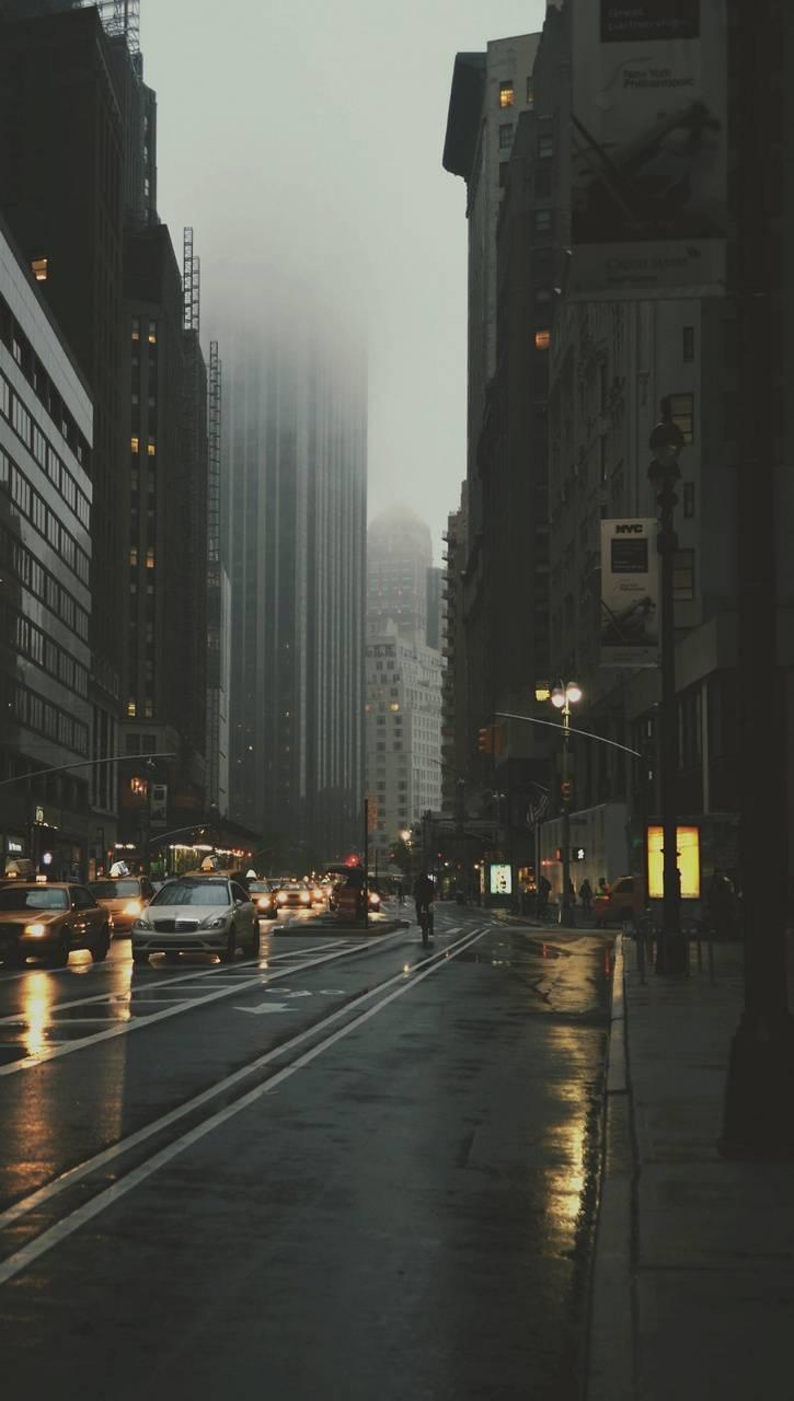 Raining City BG