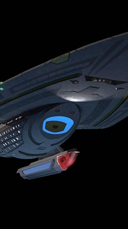 USS Voyager prototyp