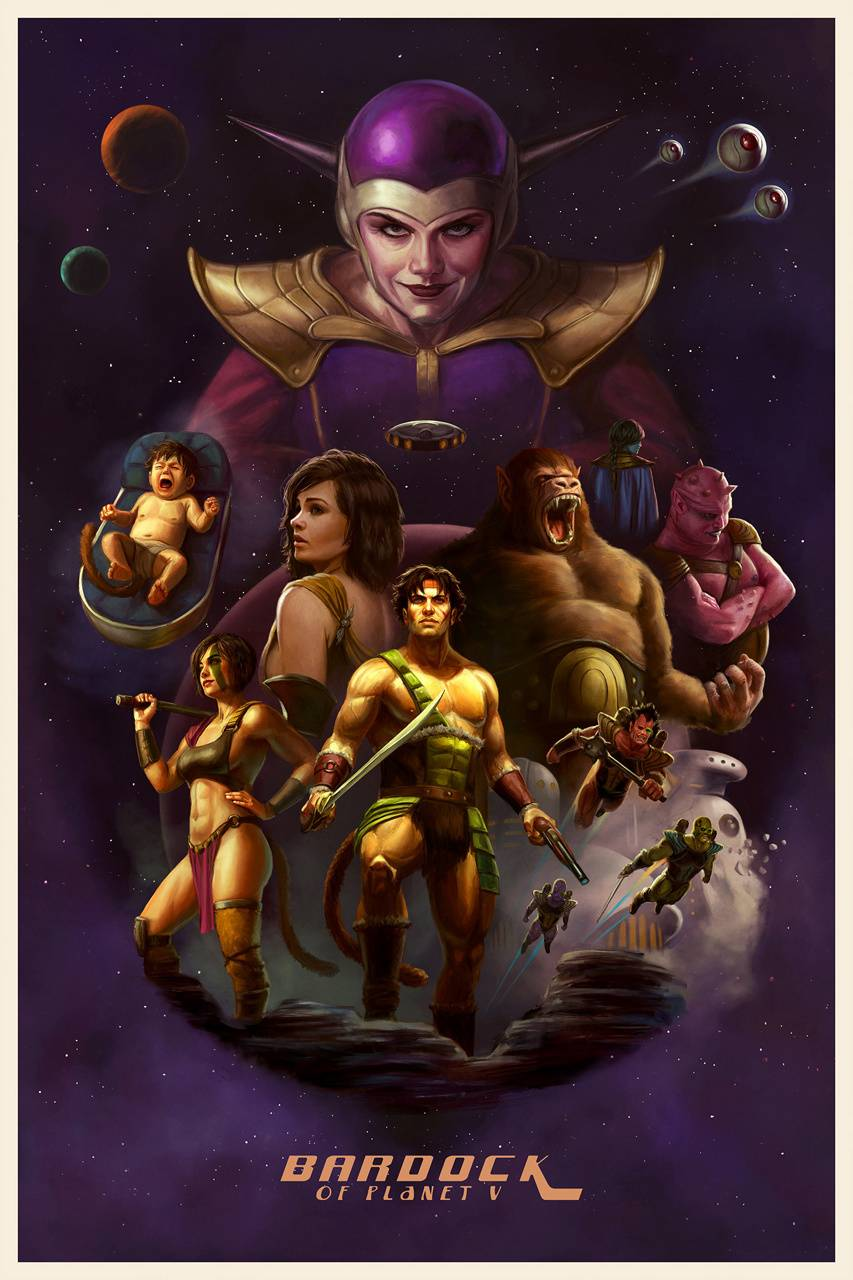 Bardock Poster