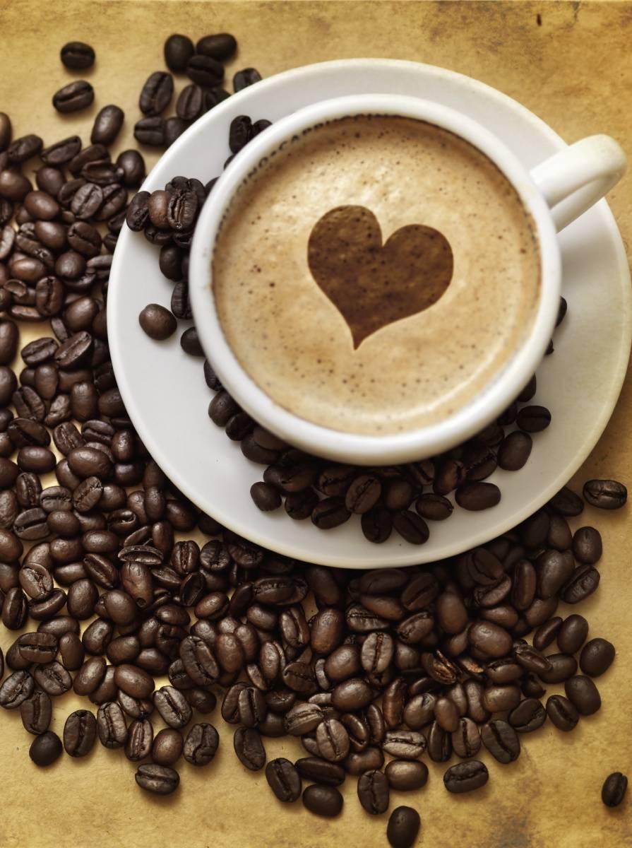 Heart In Coffee