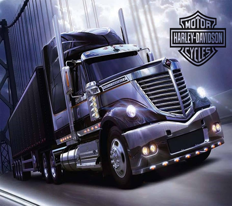 harley 18 wheeler