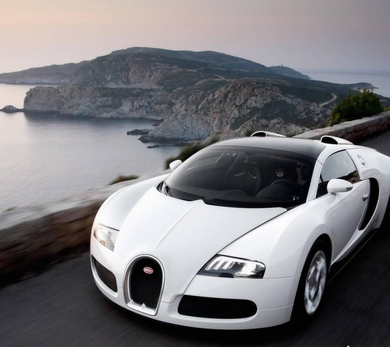 Bugatti Veyron-white