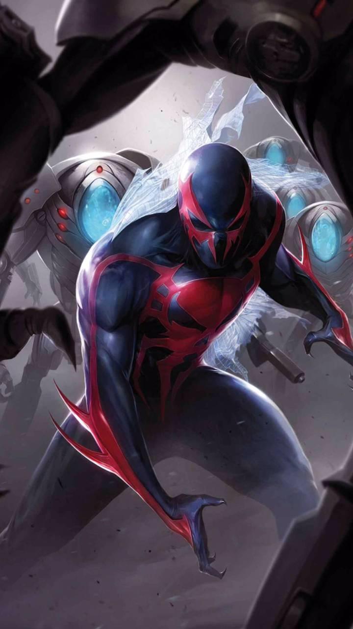 Spider Man 2099 Wallpaper By Gangstahgekko Ce Free On Zedge