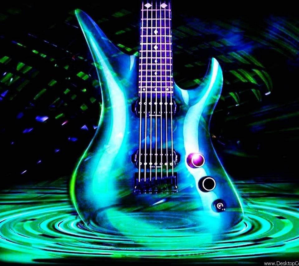 Картинки гитары анимации, картинки