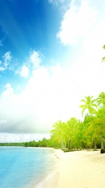 Hd Galaxy S4 Beach