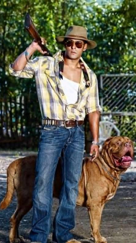 Salman In New Look