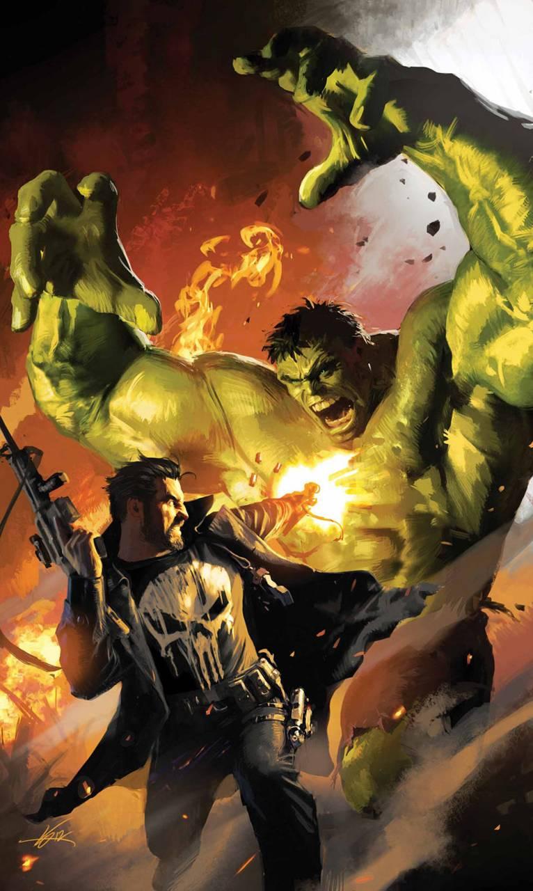 Hulk V Punisher