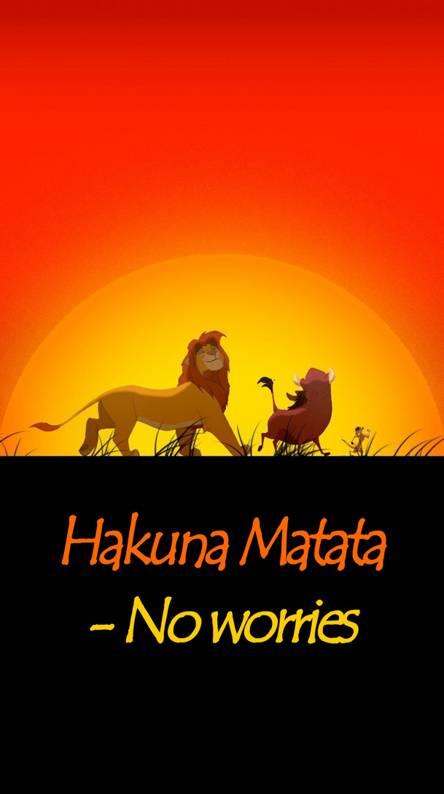 Hakuna Matata Wallpapers Free By Zedge