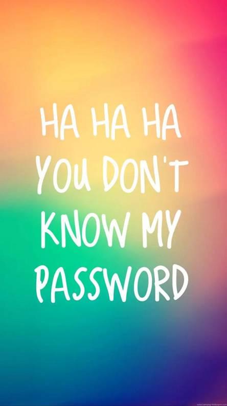 Password Wallpaper