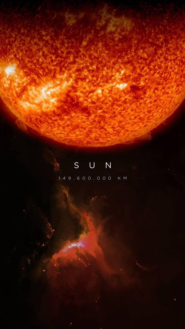 sun with text