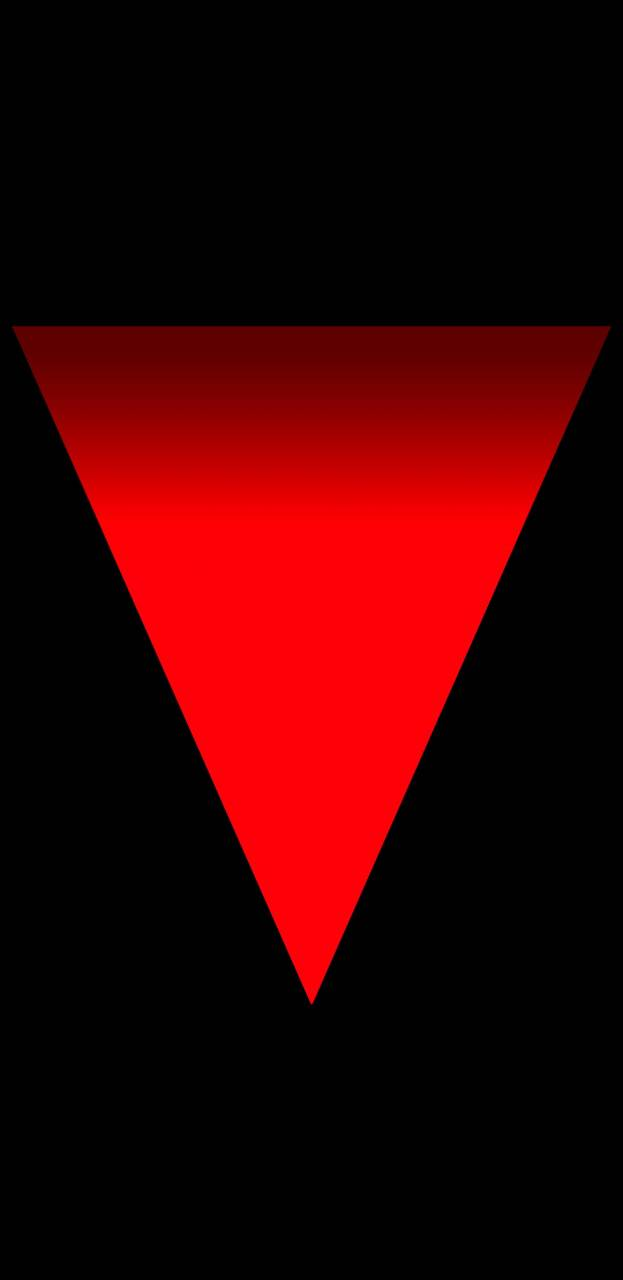 Simple Red Triangle
