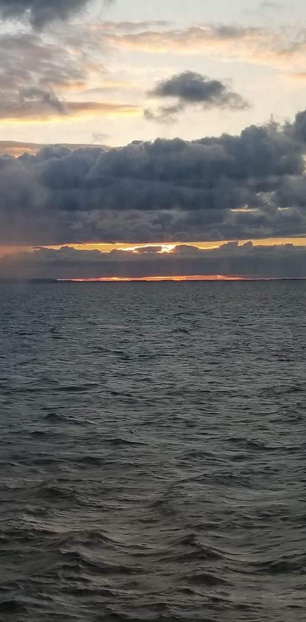 Criuse Ship Sunset
