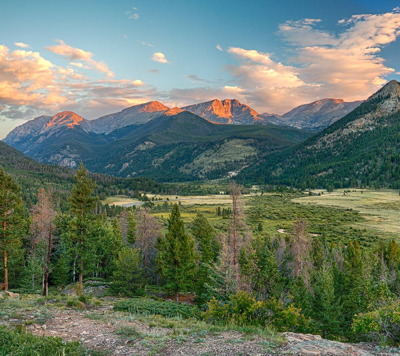 Rocky Mountain Sunri