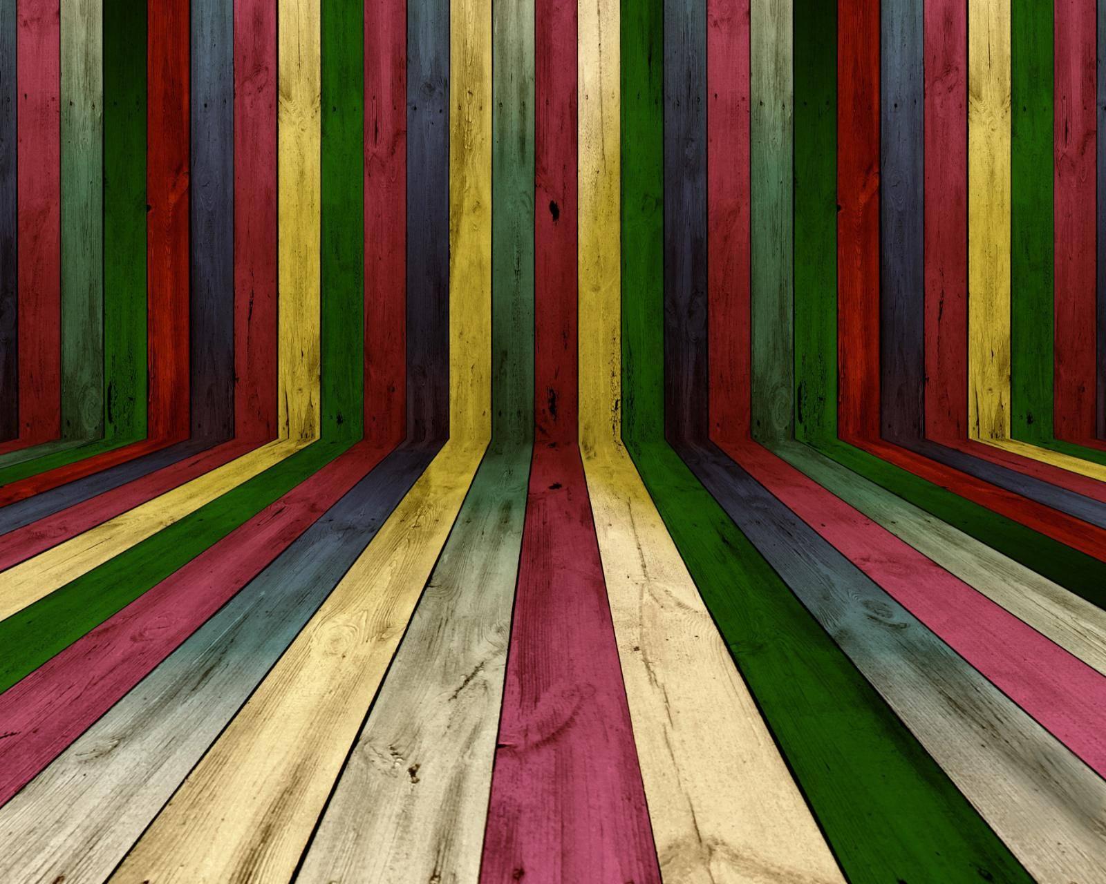 colorful wood