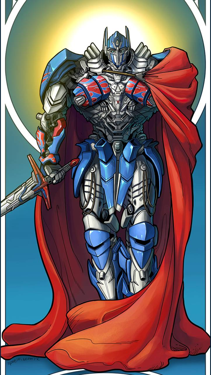 knight optimus prime