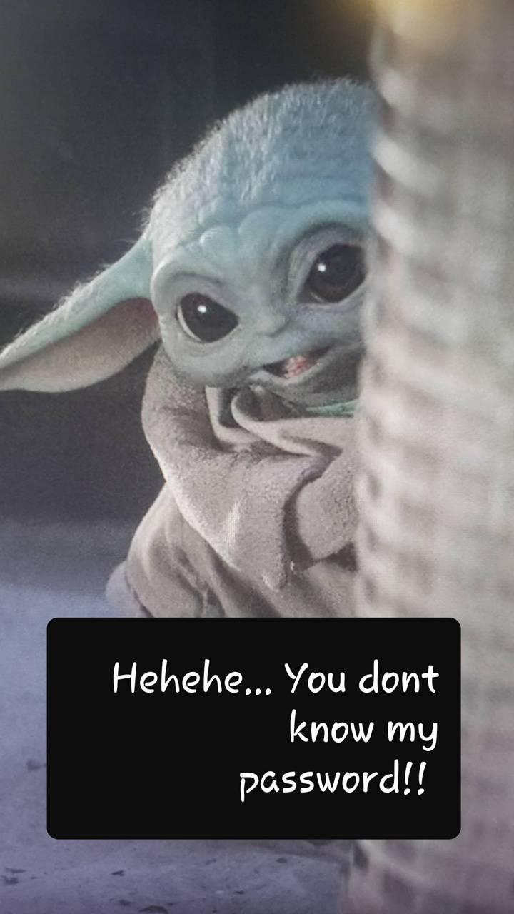 Baby Yoda Password