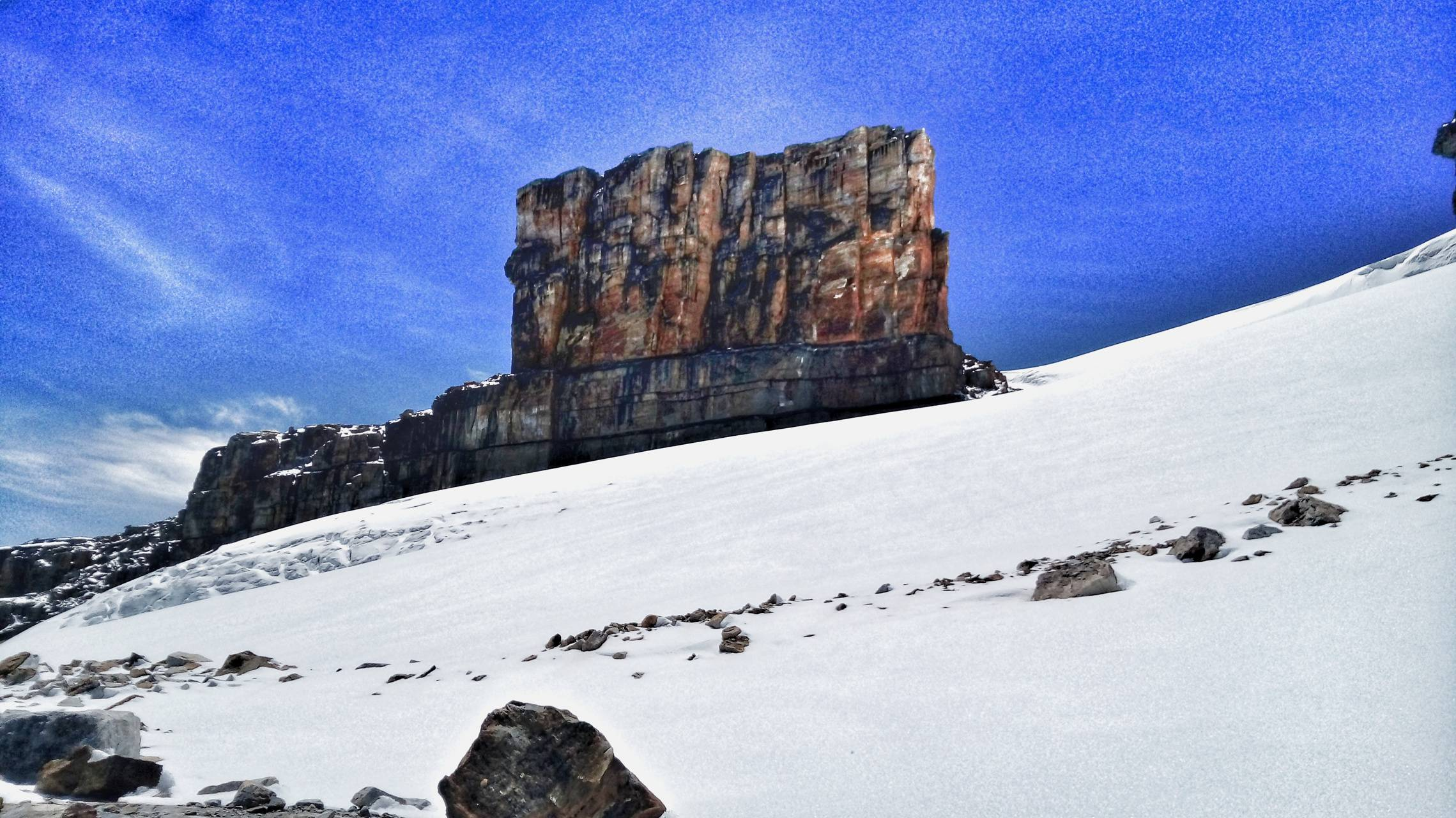 The Sony mountain
