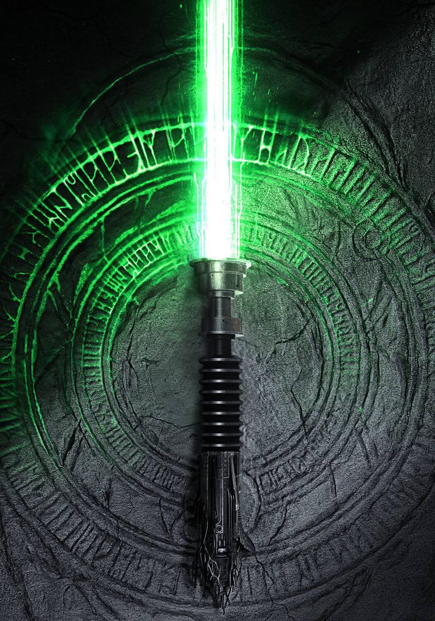 Luke lightsaber