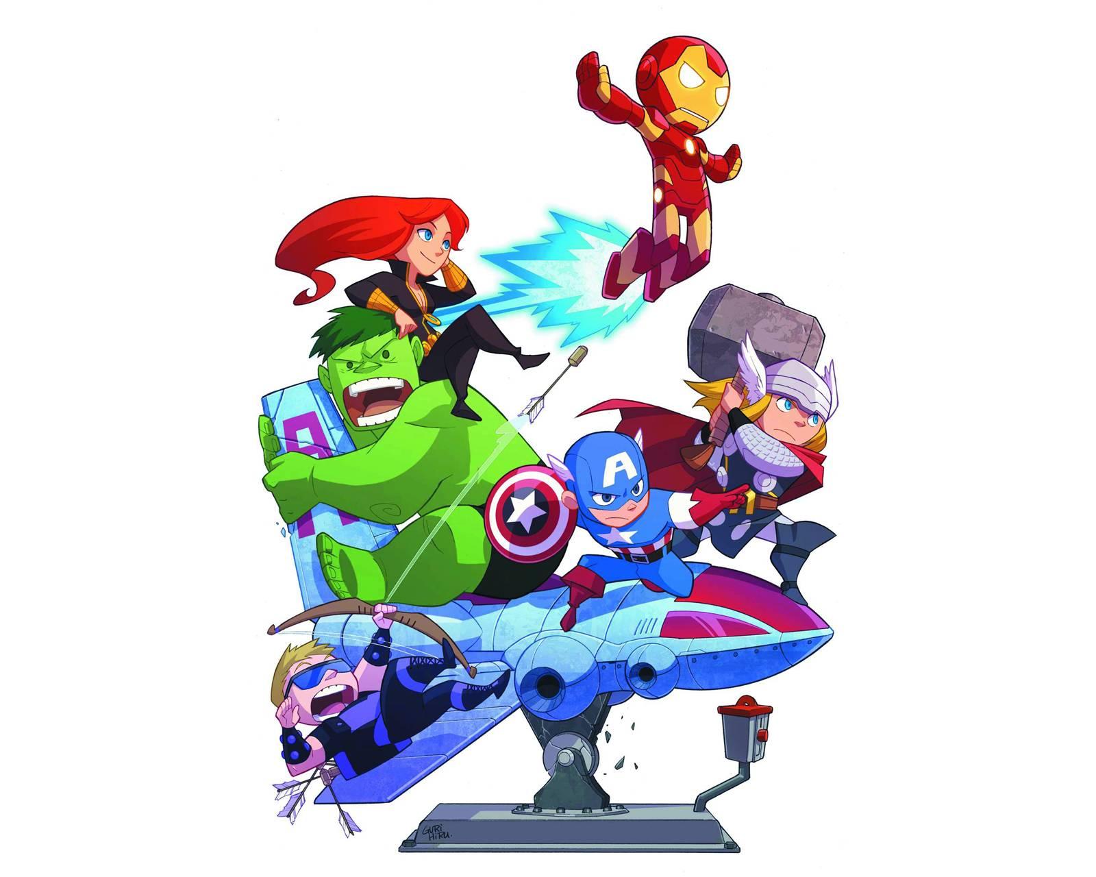 Avengers Babys