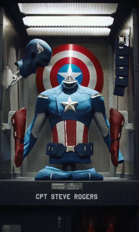 Cpt America Armor