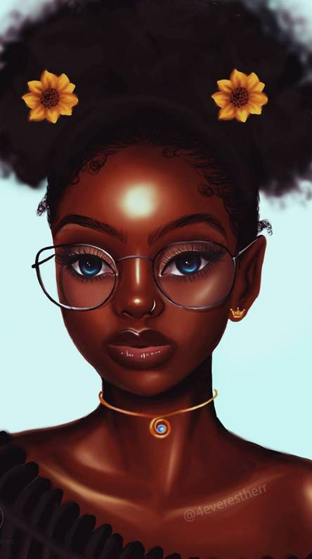 Black Girl Wallpapers Free By Zedge