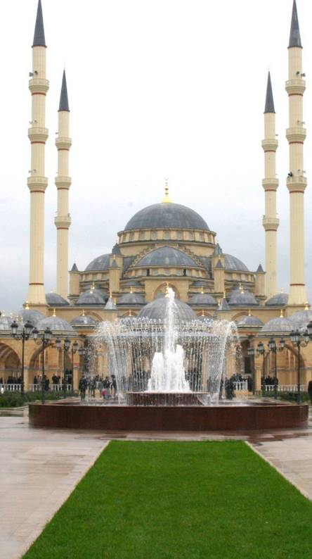 Mosque Chechnya