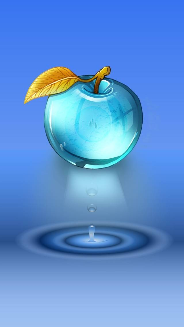 blue apple