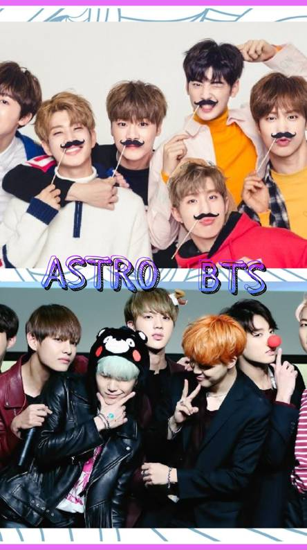 ASTRO and BTS