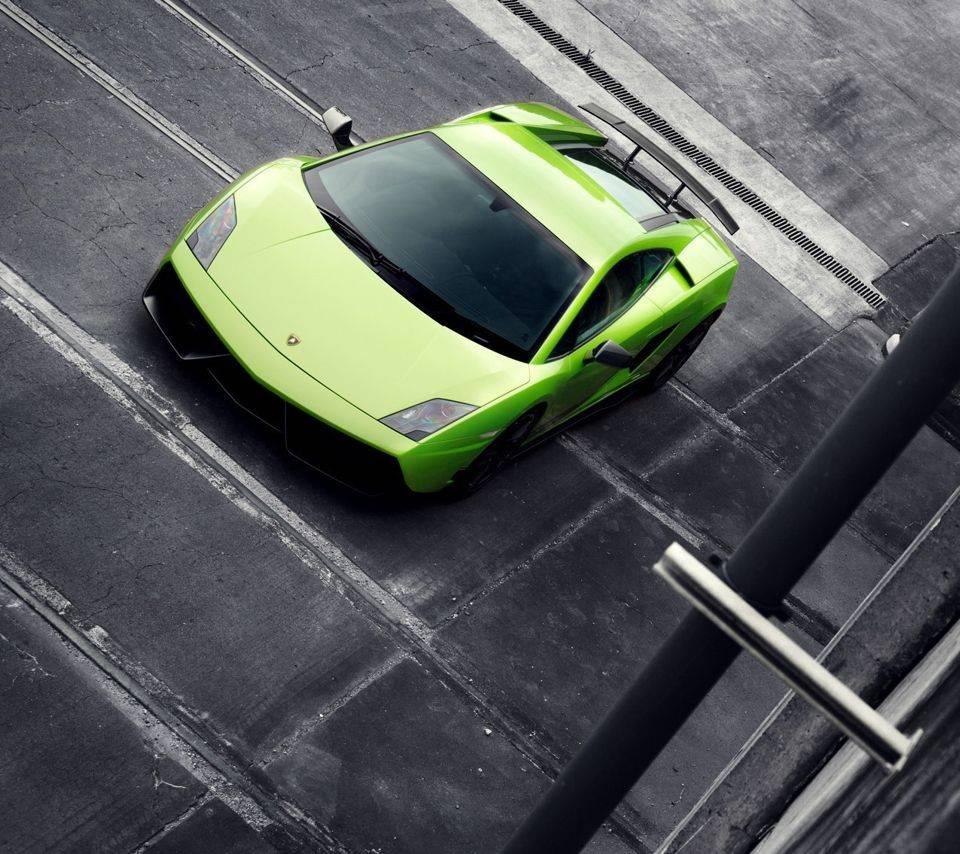 Green Lambo