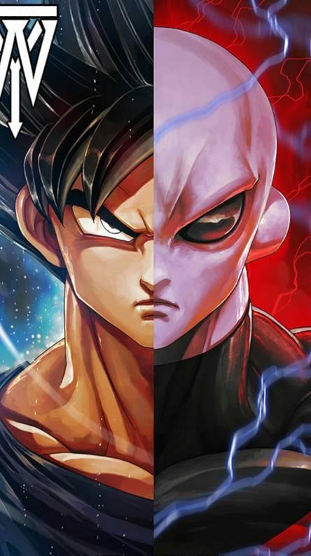 Goku and Jiren Split
