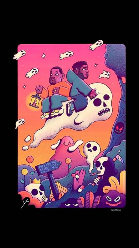 Kids See Ghosts Ringtones And Wallpapers Free By Zedge