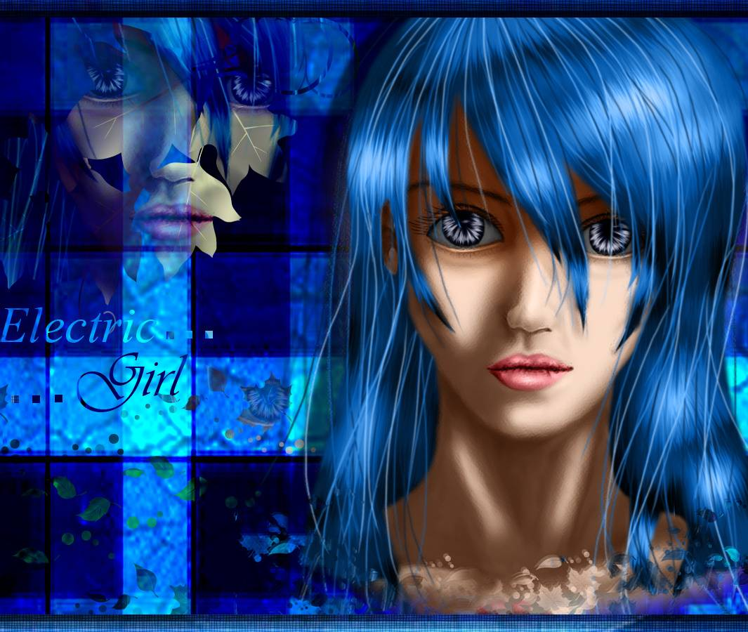 Blue Electric Girl
