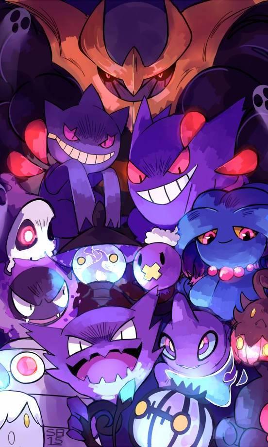 Pokemon Dark Wallpaper By Mikeydelrey A6 Free On Zedge
