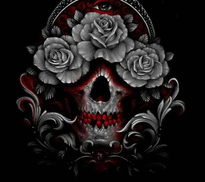 Бем, картинки с черепами и розами