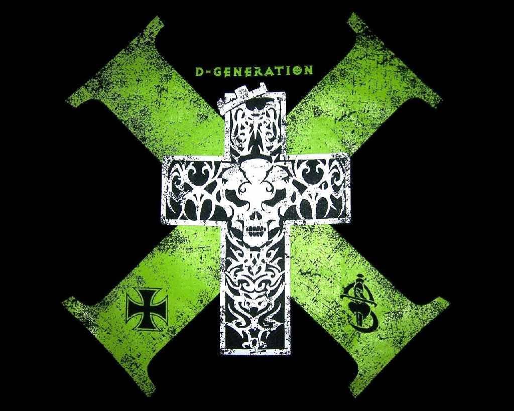 Green Cross Skull