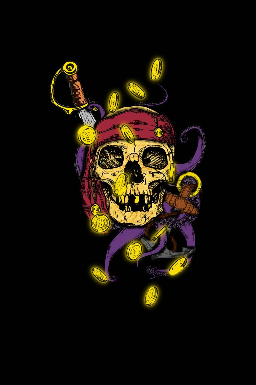 Pirate Skull Wallpaper By Jpart F4 Free On Zedge