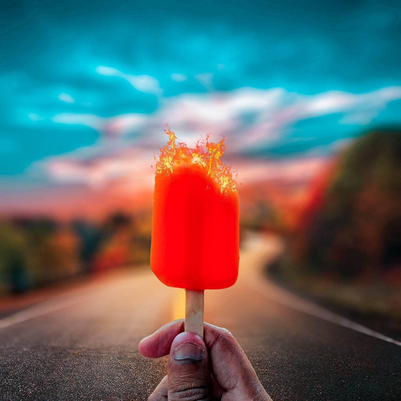 Burning Ice-Cream