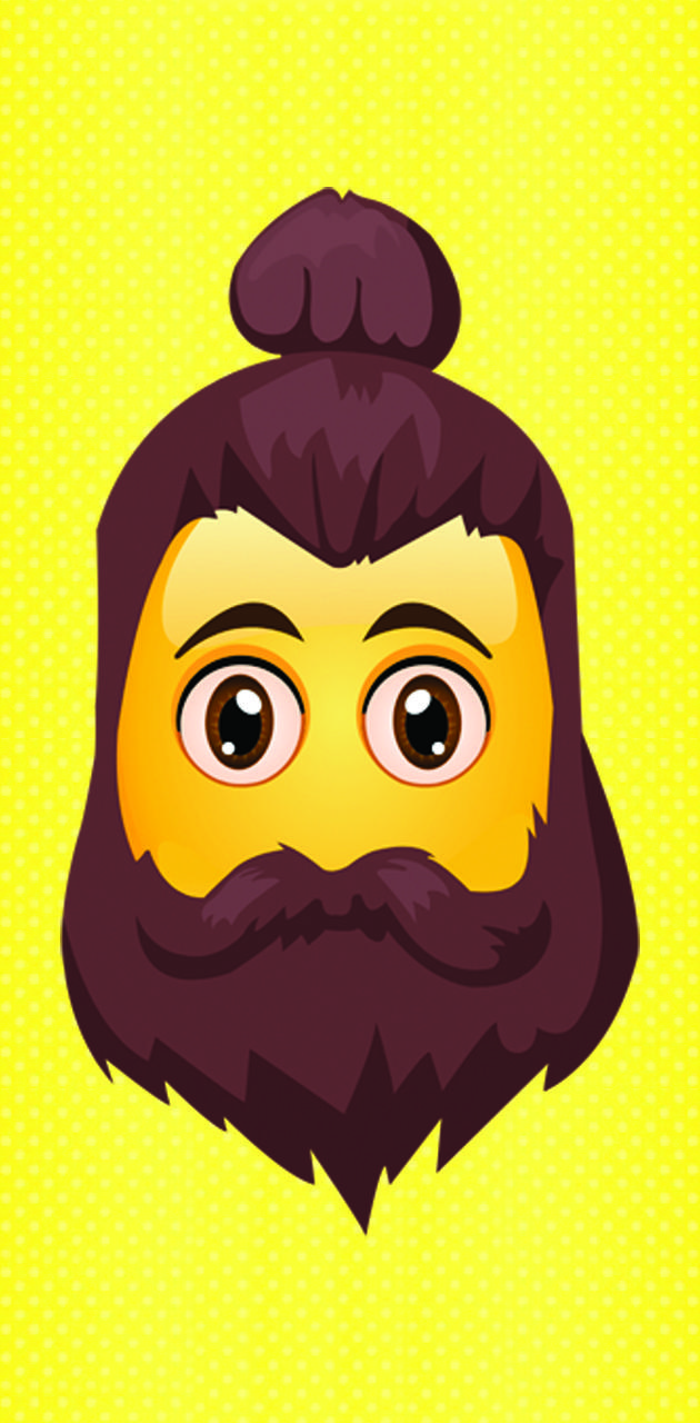 Emoji beard