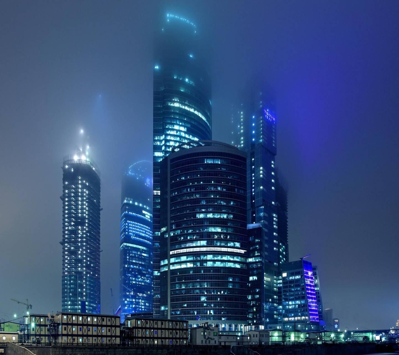 Moscow haze