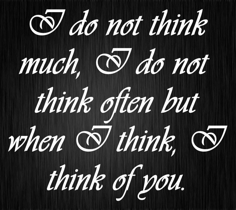 I Think of U