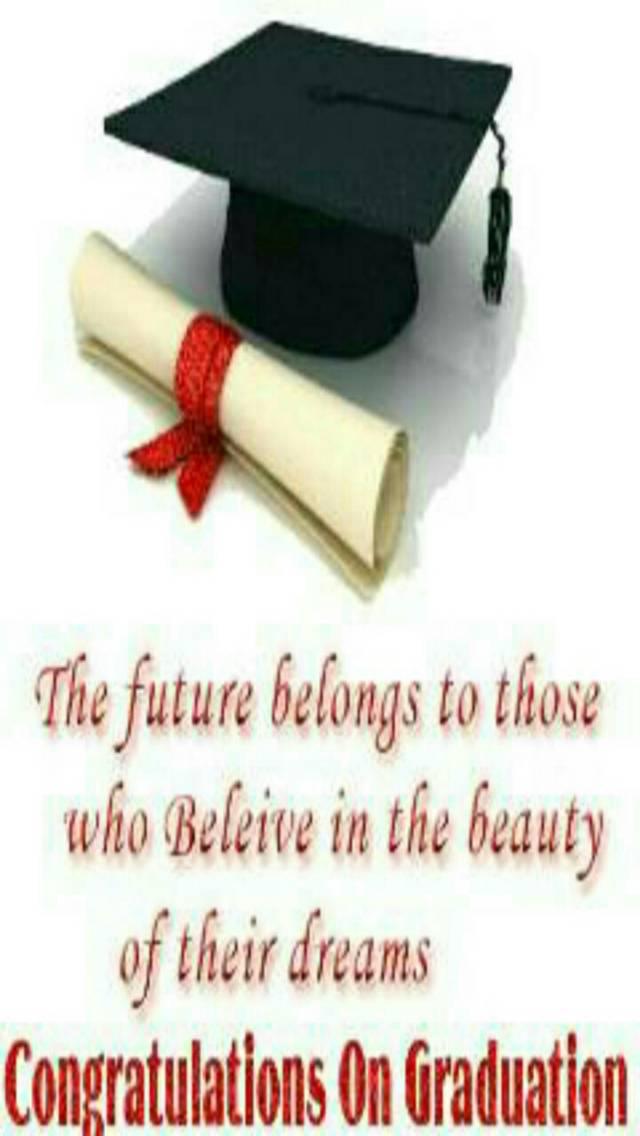 Congrats on graduate