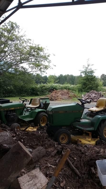 JD Lawn mowers