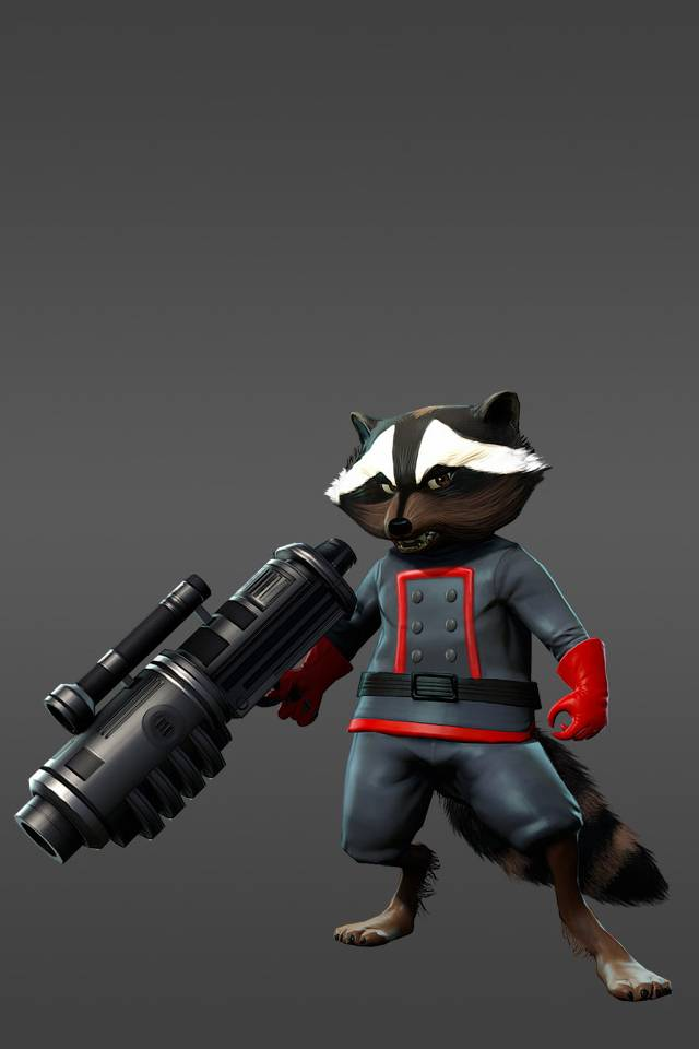 Rocket Raccoon Wallpaper By Rocampania