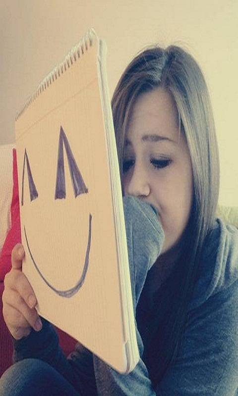 Sad Girl Smile