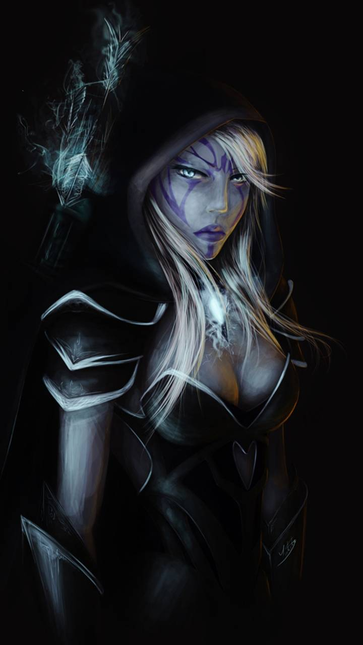 Drow Ranger Wallpaper By Snoobdude 5f Free On Zedge